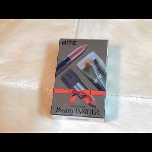Bite lip crayon, lipstick, lip balm gift set